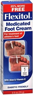 Flexitol Medicated Foot Cream for Athlete's Foot