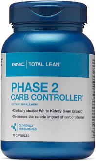 GNC Phase 2 Carb Controller for Weight Loss