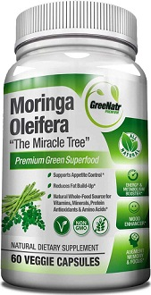 GreeNatr Moringa Oleifera for Health & Well-Being