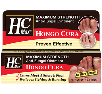 HC Max Hongo Cura Anti-Fungal for Athlete's Foot