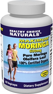 Healthy Choice Natural Moringa for Health & Well-Being