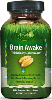 Irwin Naturals Brain Awake! for Brain Booster