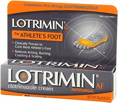 Lotrimin AF for Athlete's Foot