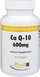Merit Pharmaceutical Co Q-10 for Health & Well-Being