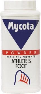 Mycota Athlete's Foot Powder for Athlete's Foot