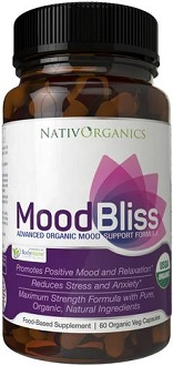 NativOrganics Mood Bliss for Anxiety Relief