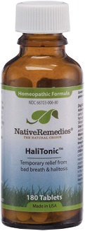 Native Remedies HaliTonic for Bad Breath & Body Odor