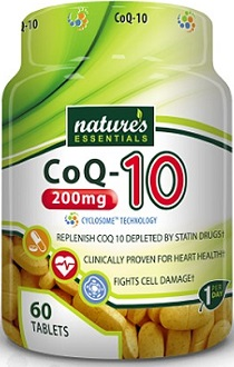 Nature's Essentials CoQ-10 for Health & Well-Being