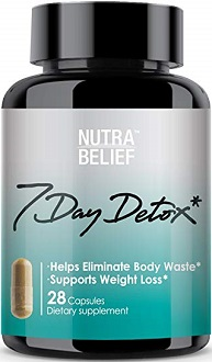 Nutra Belief 7 Day Detox for Colon Cleanse