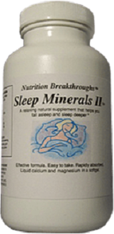 Nutrition Breakthroughs Sleep Minerals II for Insomnia