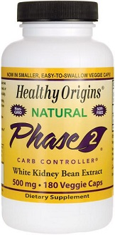 Phase Health White Kidney Bean for Carb Blocker