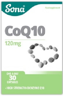 Sona CoQ10 for Health & Well-Being