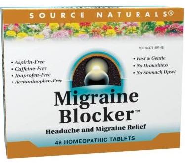 Source Naturals Migraine Blocker for Migraine Relief