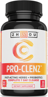 Zhou Nutrition Pro-Clenz for Colon Cleanse