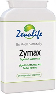 Zymax Natural Digestive Aid Formula for Bad Breath & Body Odor
