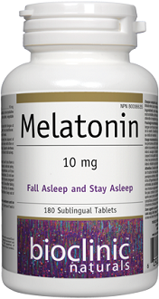Bioclinic Naturals Melatonin for Jet Lag
