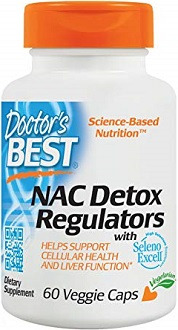 Doctor's Best NAC Detox Regulators for Colon Cleanse