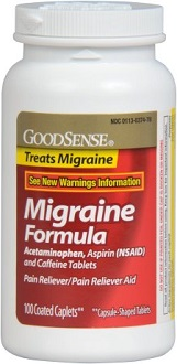GoodSense Migraine Formula for Migraine Relief