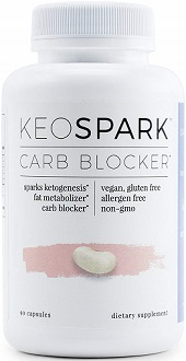 KeoSpark Carb Blocker for Weight Loss