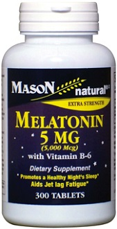 Mason Natural Melatonin for Jet Lag