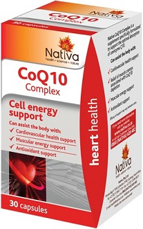 Nativa CoQ10 Complex for Health & Well-Being