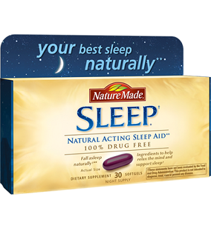 Nature Made Sleep for Jet Lag