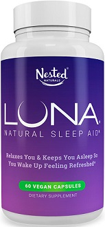 Nested Natural Luna for Insomnia Relief