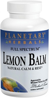 Planetary Herbals Lemon Balm for Insomnia
