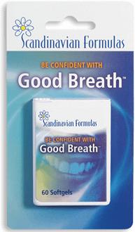 Scandinavian Formulas Good Breath for Bad Breath & Body Odor