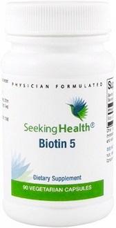 Seeking Health Biotin 5 for Hair Growth