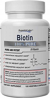 Superior Labs Biotin Pure for Hair Growth