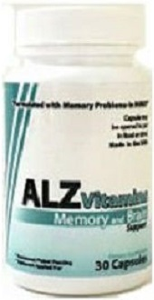 ALZ Vitamins Memory and Brain Support for Brain Booster