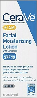 CeraVe AM Facial Moisturizing Lotion for Skin Moisturizer