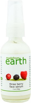 Made From Earth Three Berry Face Serum for Anti-Aging