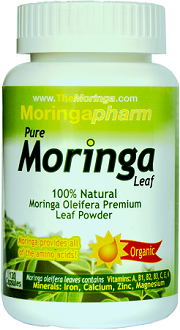 Moringapharm Organic Moringa Oleifera Leaf for Health & Well-Being