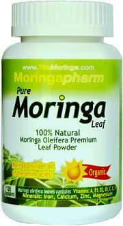 Moringapharm Organic Moringa Oleifera Leaf for Health & Well-Being