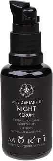 Mukti Age Defiance Night Serum for Anti-Aging