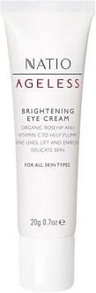 Natio Ageless Brightening Eye Cream for Wrinkles