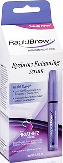 RapidBrow Eyebrow Enhancing Serum for Eye Lash & Eye Brow