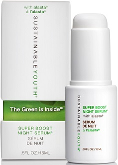 Sustainable Youth Super Boost Night Serum for Anti-Aging