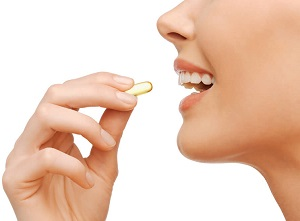 Woman With CLA Supplement