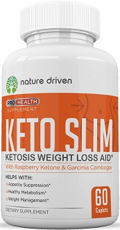Nature Driven Keto Slim for Weight Loss