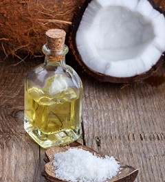 Photo of Coconut Oil and Shells